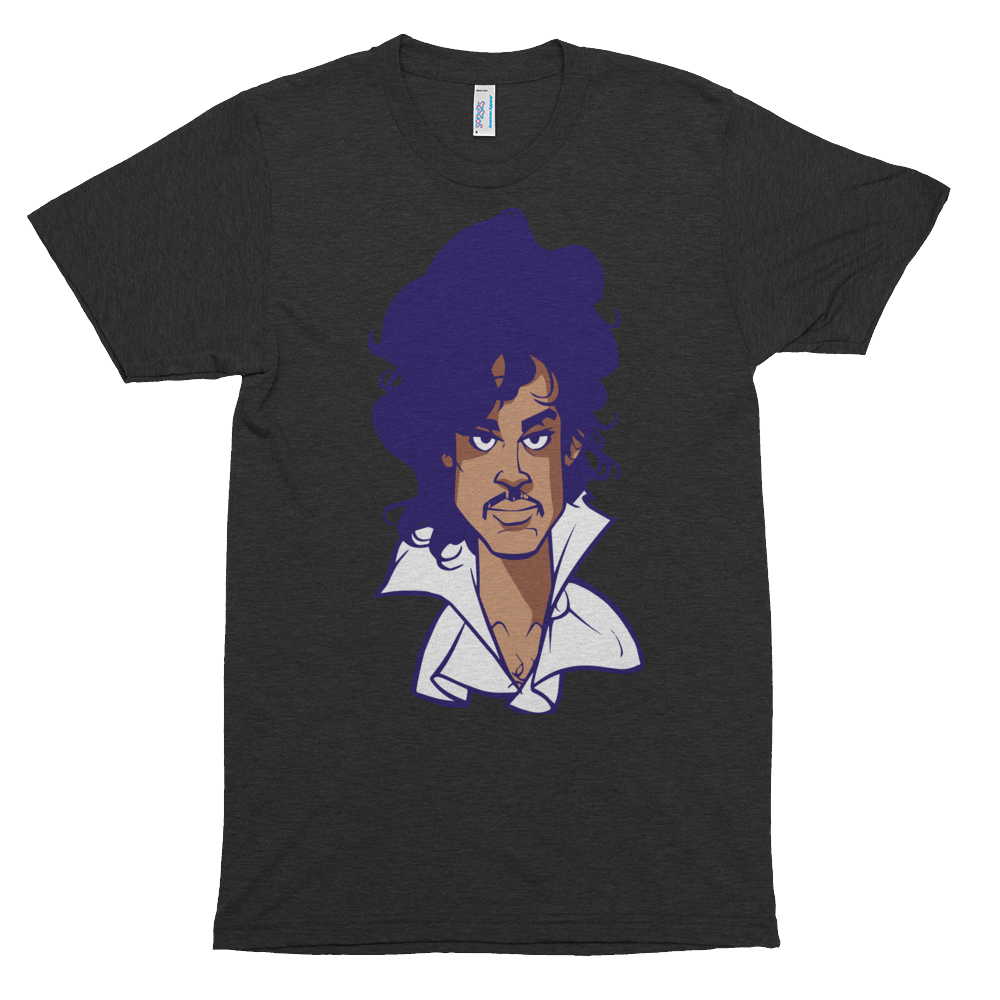 Image of Prince Purple Reign (Limited Edition Soul Series) (heather black/regular face)