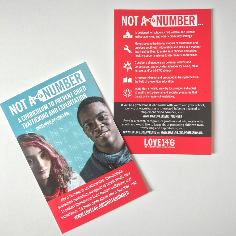 Image of Not A Number Postcards (Pack of 25)