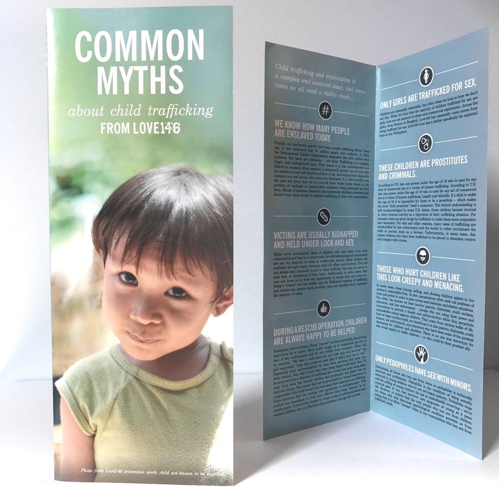 Image of Common Myths Brochure (Pack of 25)