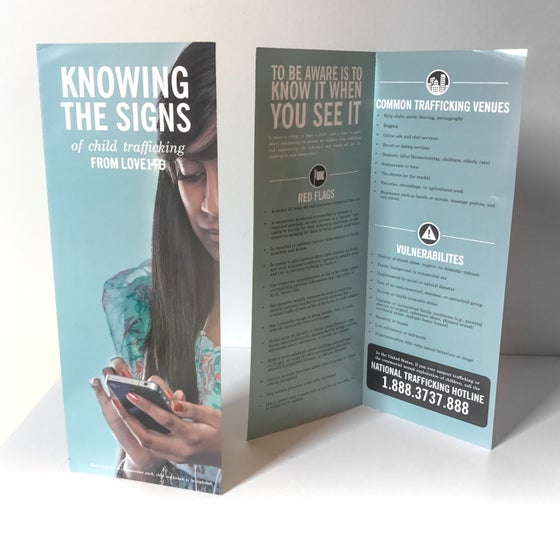 Image of Knowing The Signs Brochure (Pack of 25)