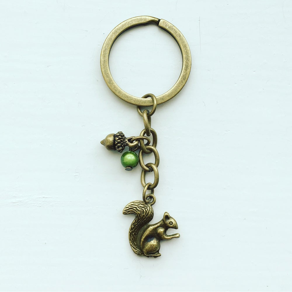 Image of Squirrel Keychain
