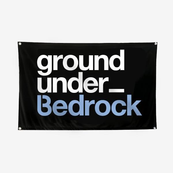 Image of Bedrock Underground Flag (5ft x 3ft)