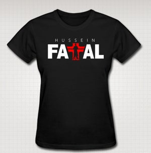 Image of Hussein Fatal Female Baby T-  COMES IN BLACK AND WHITE CLICK HERE TO SEE ALL