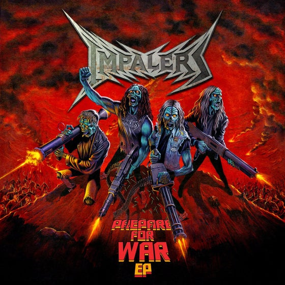 Image of Impalers - 'Prepare For War' EP Digipak