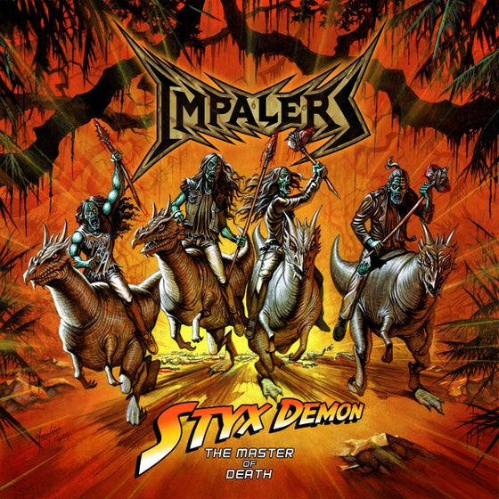 Image of Impalers 'Styx Demon: The Master Of Death' EP Digipak