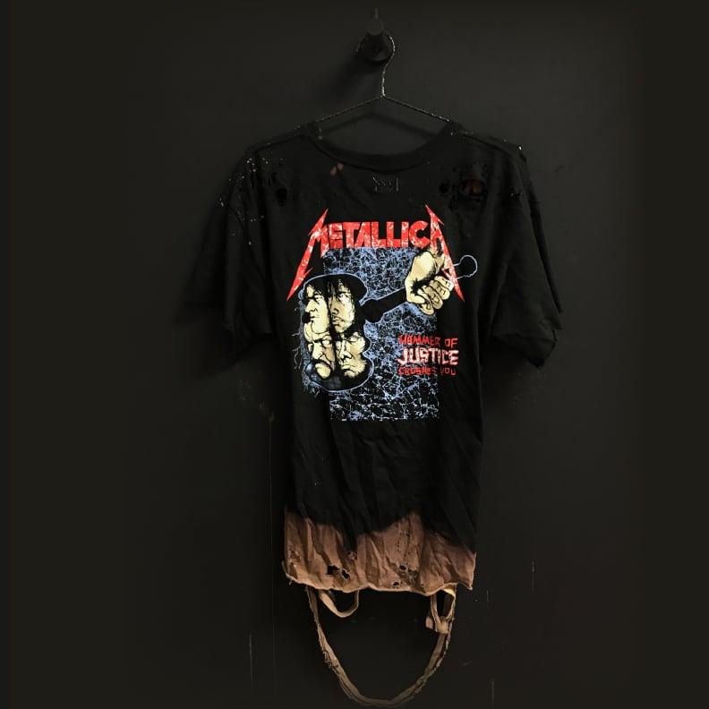 Image of MxM Metallica Distressed Tee