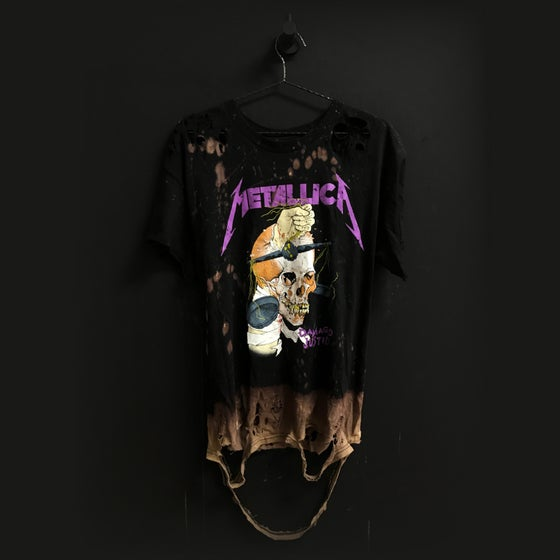 Image of MxM Metallica Distressed Tee