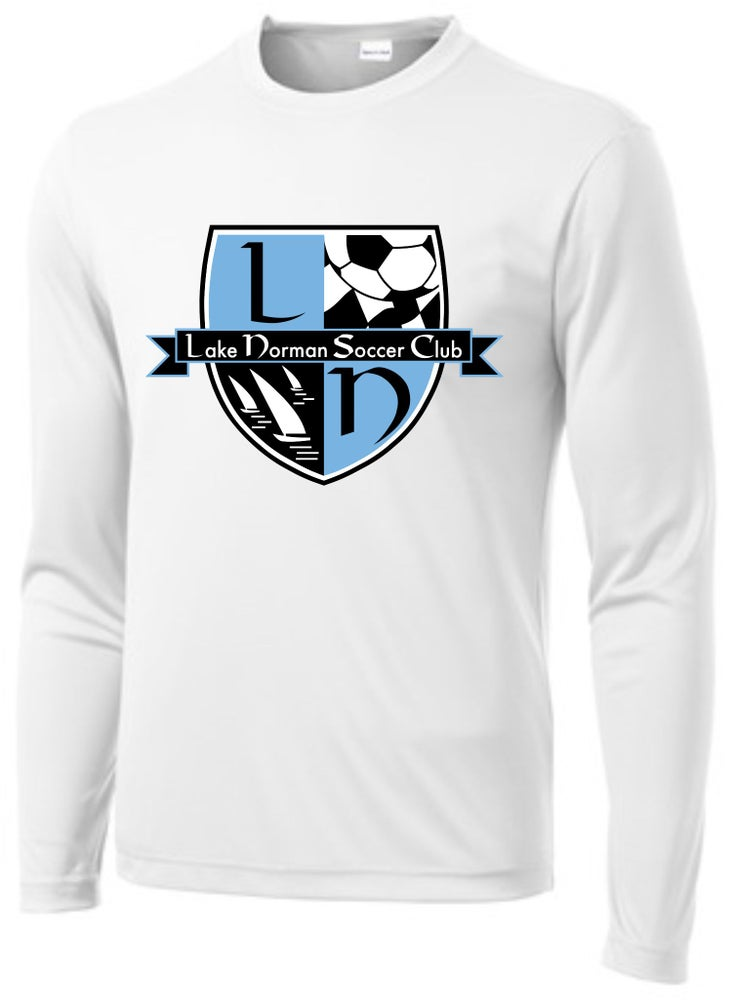 Image of APPROVED TRAINING WEAR - Long Sleeve White Dri-Fit