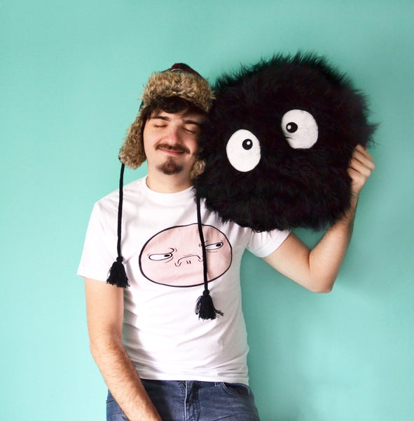 Image of Big Susuwatari pillow