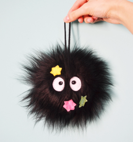 Image of Susuwatari key chain