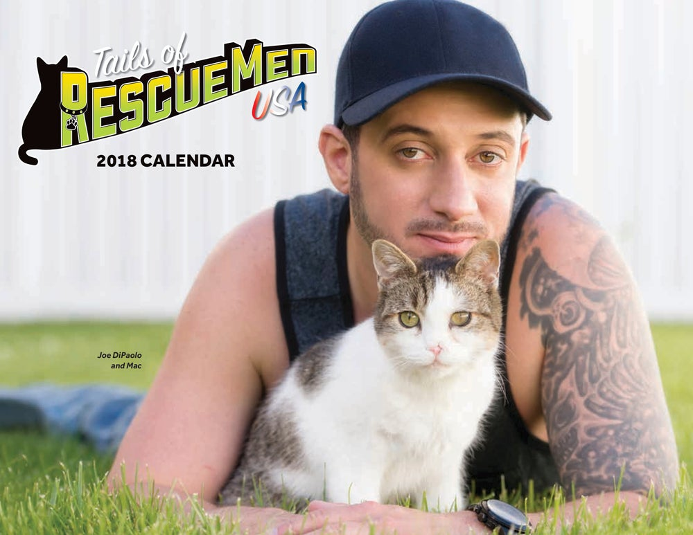 Image of Tails of RescueMen USA 2018 Charity Calendar