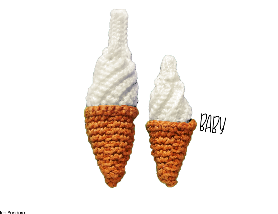 Image of BABY soft serve // pin