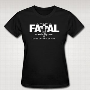 Image of Hussein Fatal Realest Female Baby T - COMES IN BLACK, WHITE CLICK HERE TOO SEE ALL COCLORS