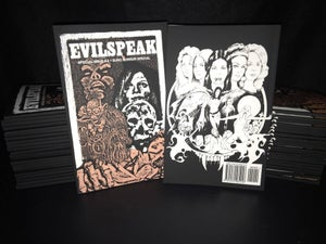 Image of Evilspeak Magazine - Special Issue 5.5 (half sized book)