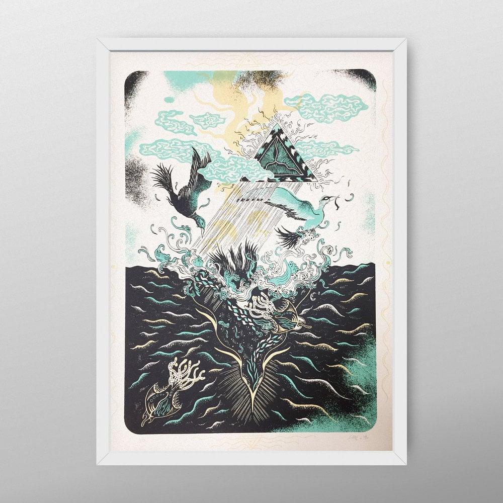 "Artprint ""DIVING TRIP"" (2017)"