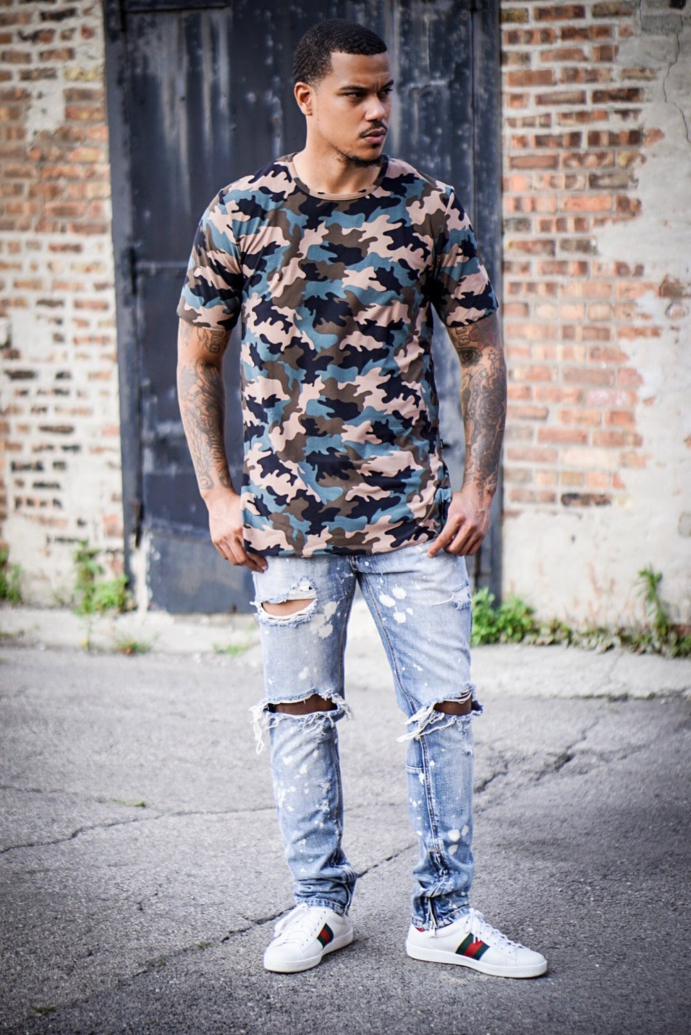 Image of Urban Army Extended Length Tee