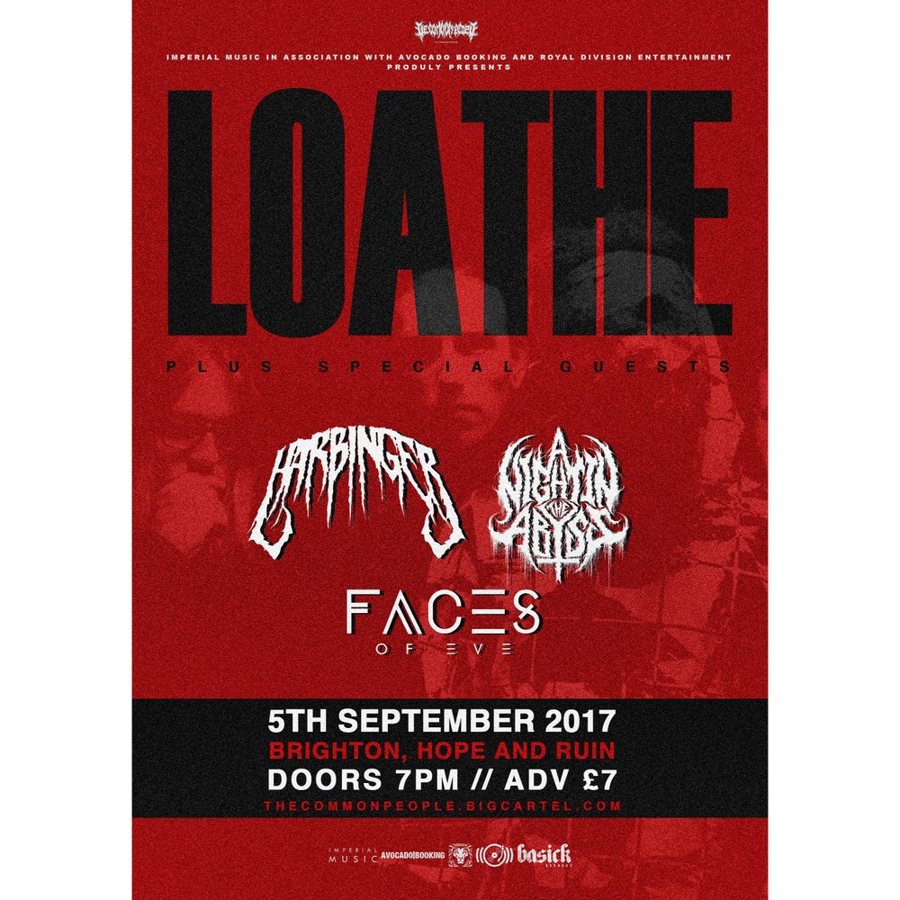 Image of TCP PRESENTS - Loathe + Harbinger - The Hope And Ruin -Tuesday 5th September 2017