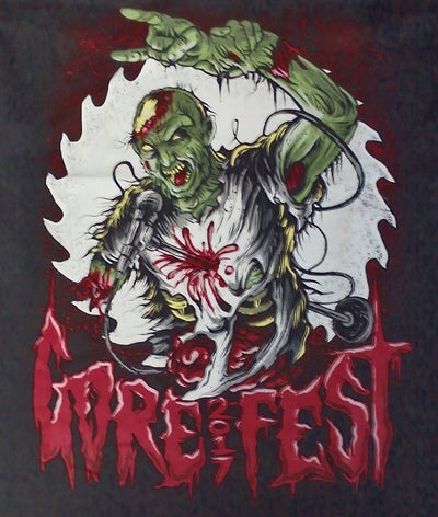 Image of GOREFEST - 2017 SHIRT