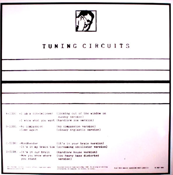Image of Tuning Circuits - No Compassion 2LP