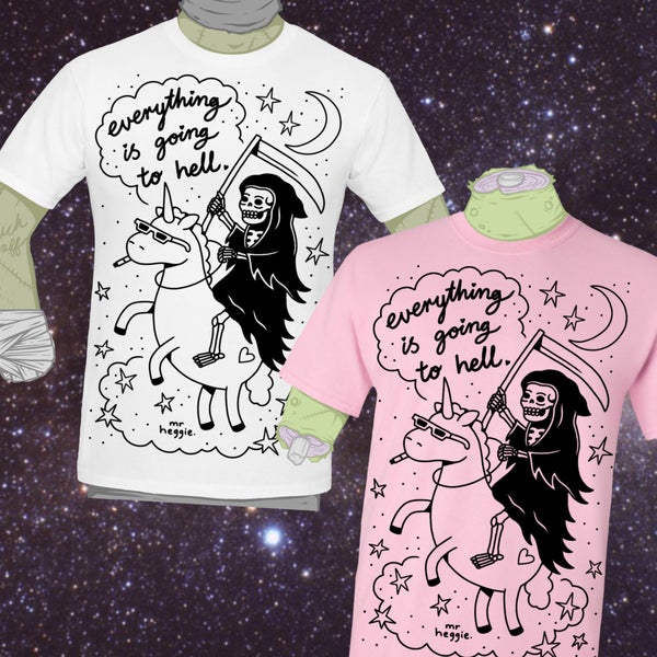 Image of The everything is going to hell shirt