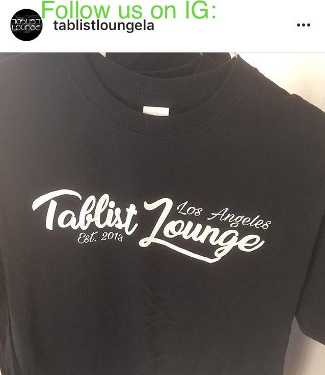 Image of Tablist Lounge Logo Tee
