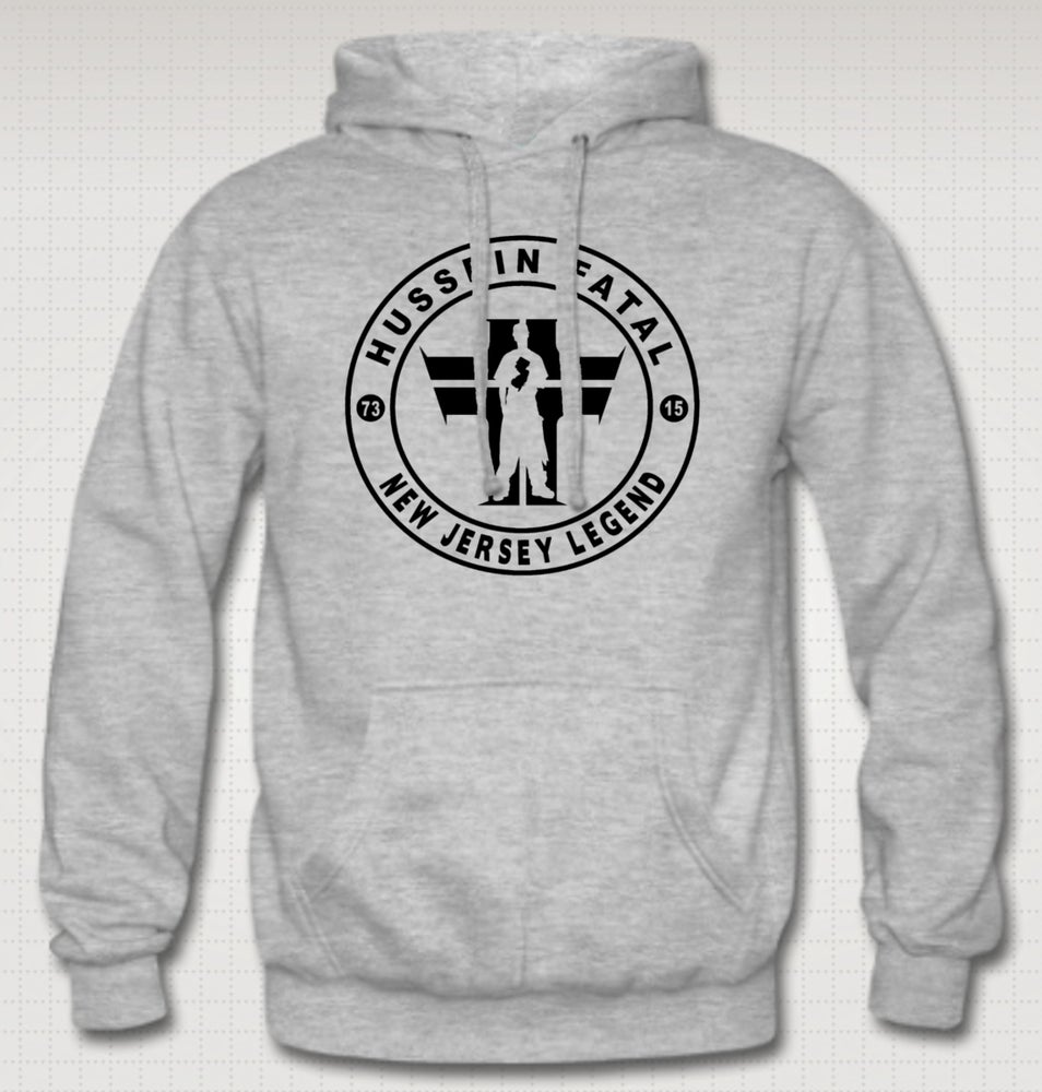 Image of Hussein Fatal Legends Hoodie - Comes in Black , Grey - CLICK HERE TO SEE ALL COLORS