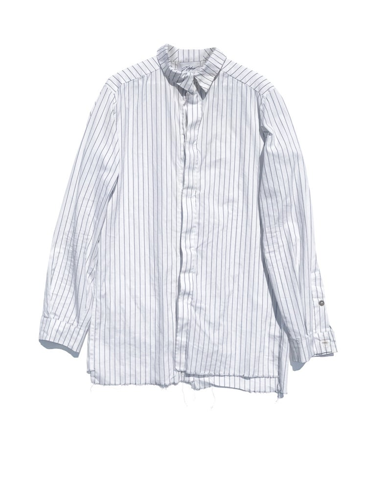 Image of A Red August limited release capsule collection: cotton floating placket shirt