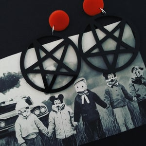 Image of Pentagram earrings