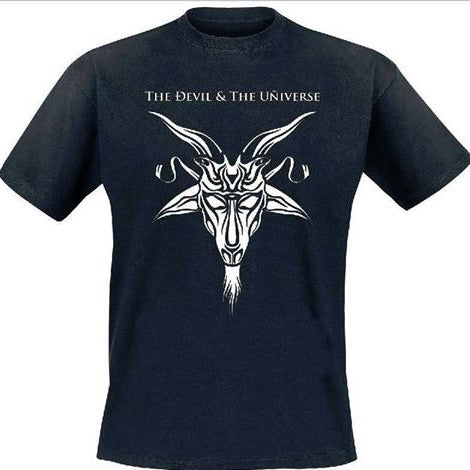 Image of The Devil & The Universe - Goat Head T-Shirt