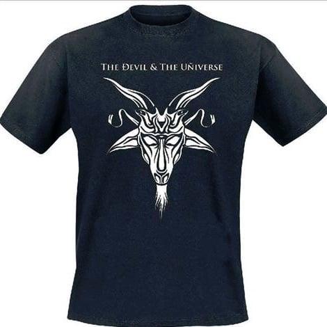 Image of The Devil & The Universe - Goat Head T-Shirt