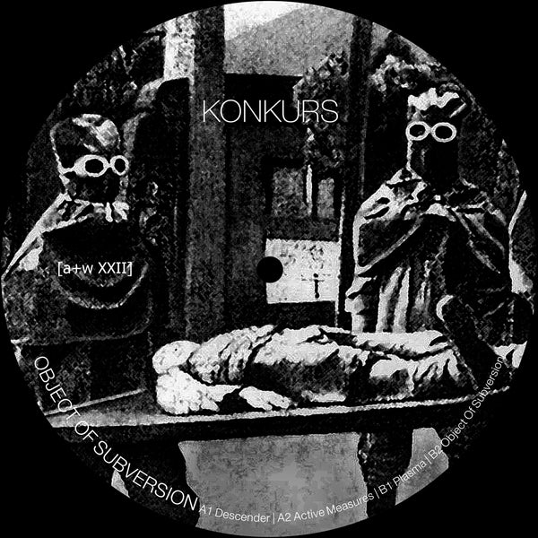 "Image of [a+w XXII] Konkurs - Object Of Subversion 12"" (pre-order, out April 24)"