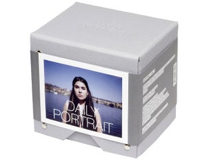 Image of daily portrait prague polaroid box