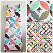 Image of Candy Wrapper Ombre Quilt PDF pattern