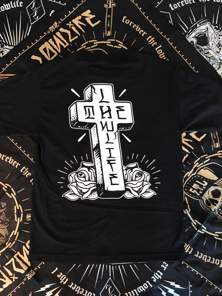 Image of The Lowlife Cross Tee