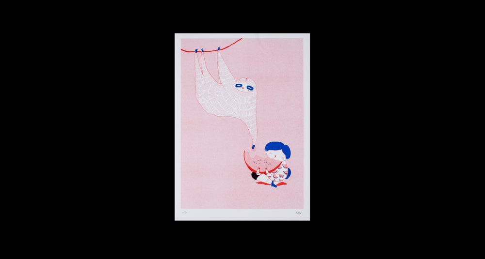 Image of Riso-Poster by Tu Anh Mai