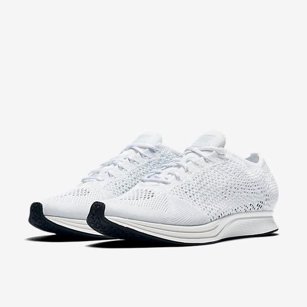 Image of Nike Flyknit Racer White