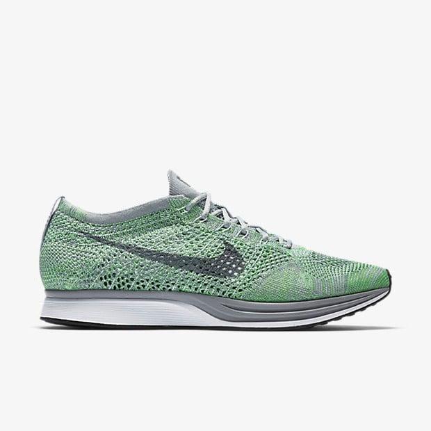 1095cce870e70 Nike Flyknit Racer Ghost Green   Flyknitseller