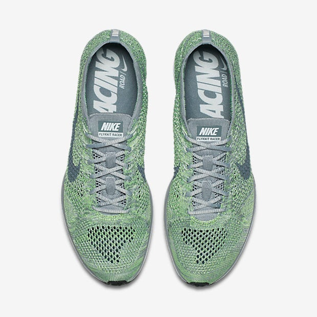 9badc812601eb ... Image of Nike Flyknit Racer Ghost Green ...