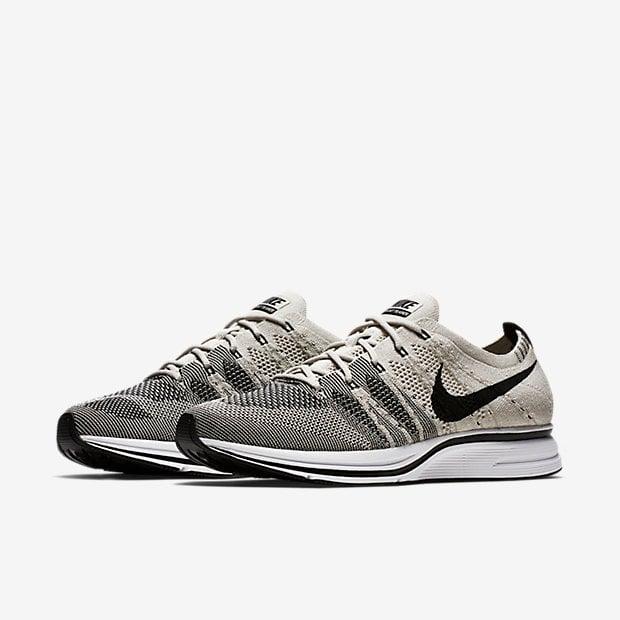 Nike Flyknit Trainer Pale Grey Pale Black White AH8396 001