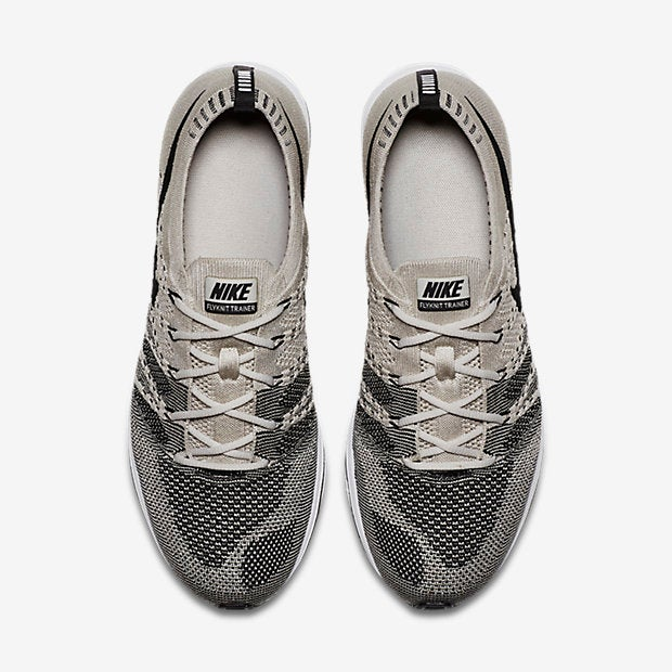 Image of Nike Flyknit Trainer Pale grey
