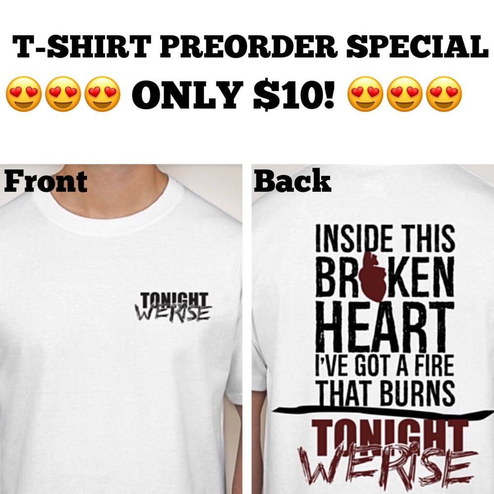 Image of Tonight We Rise Shirt Preorder