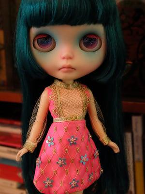 Image of Lounging Linda Fabergé Egg Dress - Neon Pink