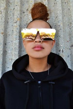 Image of Reflective Oversided Sunglasses 😎