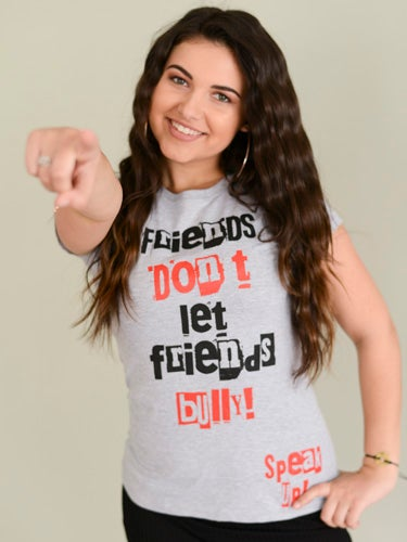 FRIENDS DON'T LET FRIENDS BULLY TEE
