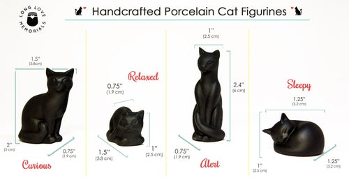 Image of Black Cat Figurine