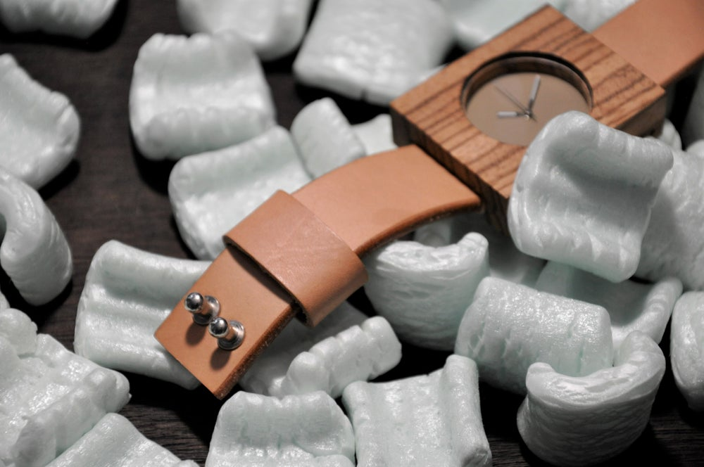 Image of Limited Error Wooden Timepiece 001