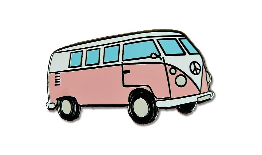 Image of Hippie Van Enamel Pin