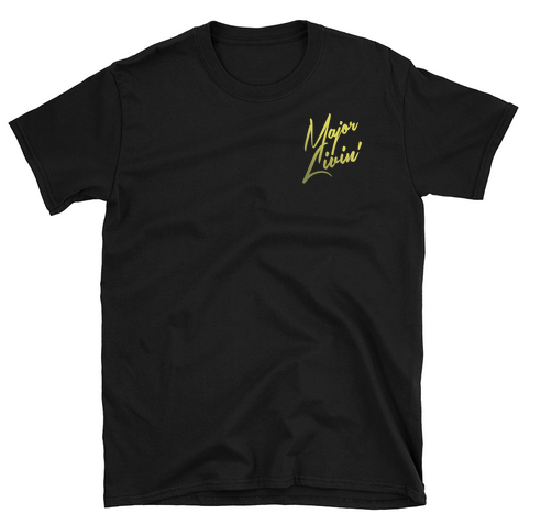 Image of Black Major Livin T-Shirt