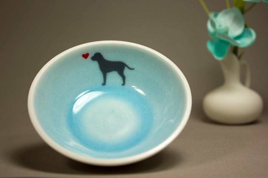 Image of Shadow Ring Bowl for Dog Lover