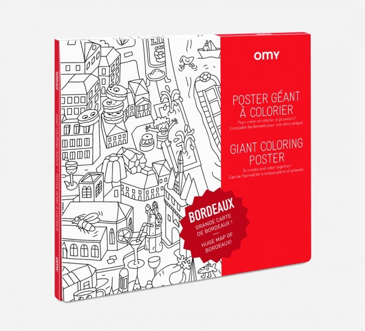Image of Coloriage géant Omy - Made in France